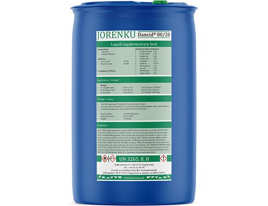 Dancid® 80/20 from Jorenku
